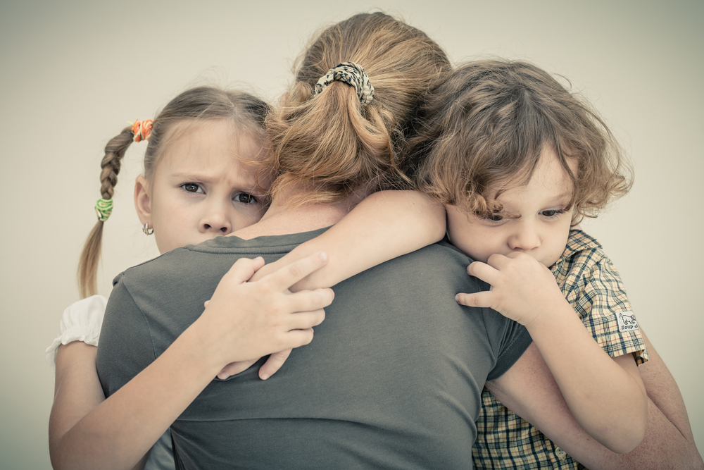 Children coping with trauma