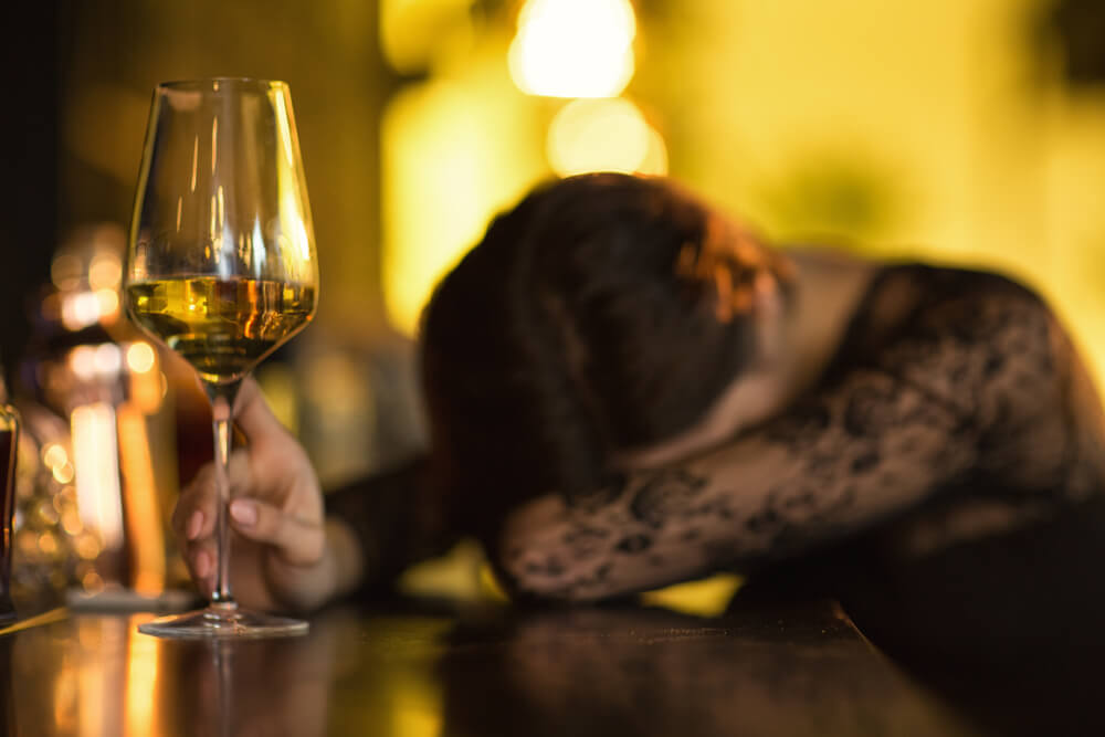 drinking to cope with grief